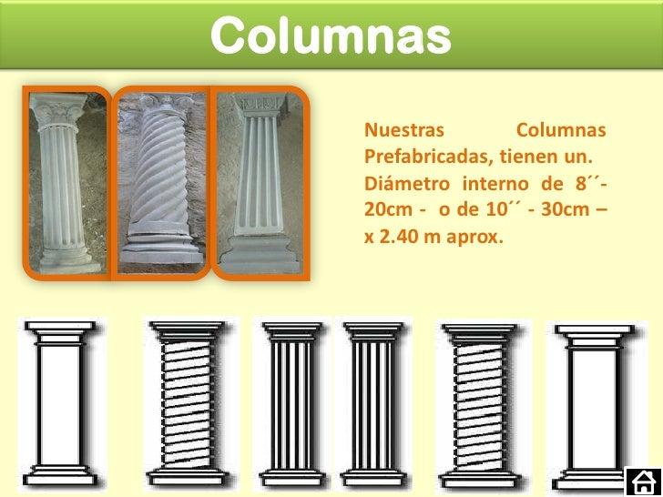 Acabados Prefabricados en Concreto
