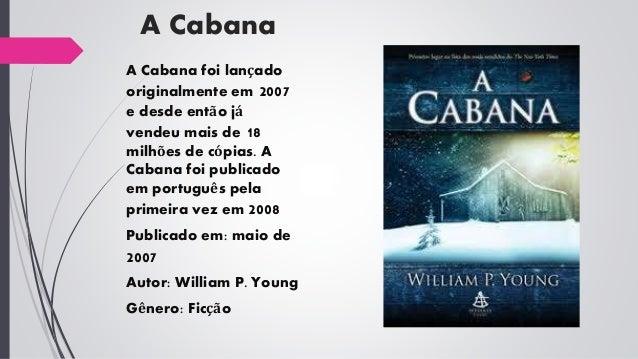 """Resenha do Livro """" A Cabana"""