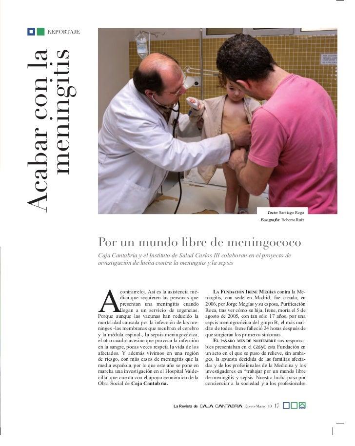 Acabar con la meningitis - Acabar con la carcoma ...