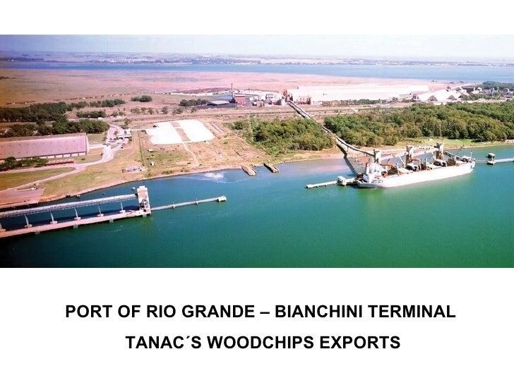 Acacia Woodchips In Brazil VersãO 2010 Og Tanac