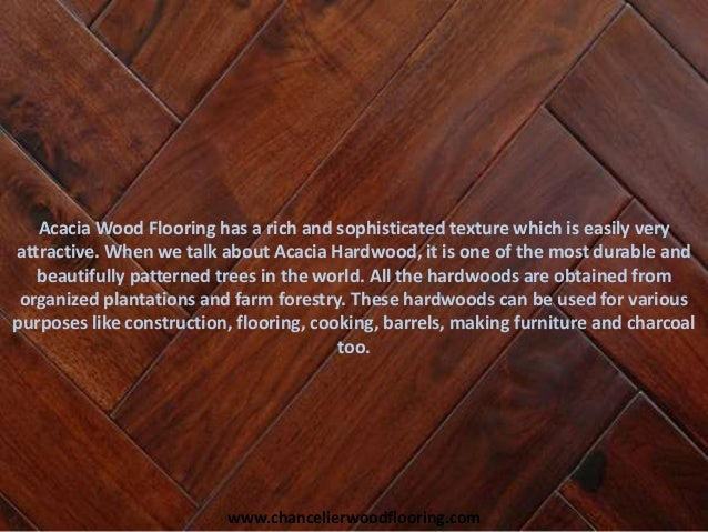 Acacia Wood Flooring Decking Applications