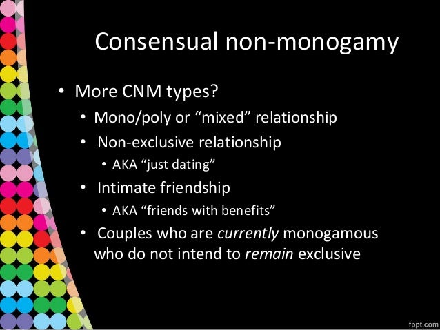 Ethical non monogamy
