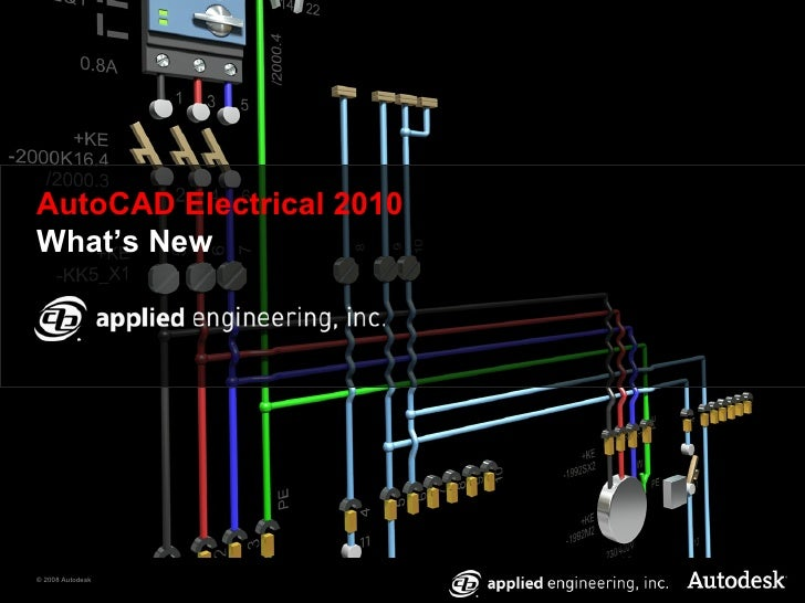 How to draw electrical circuits in autocad 2010 auto wiring what s new in autocad electrical 2010 rh slideshare net asfbconference2016 Image collections