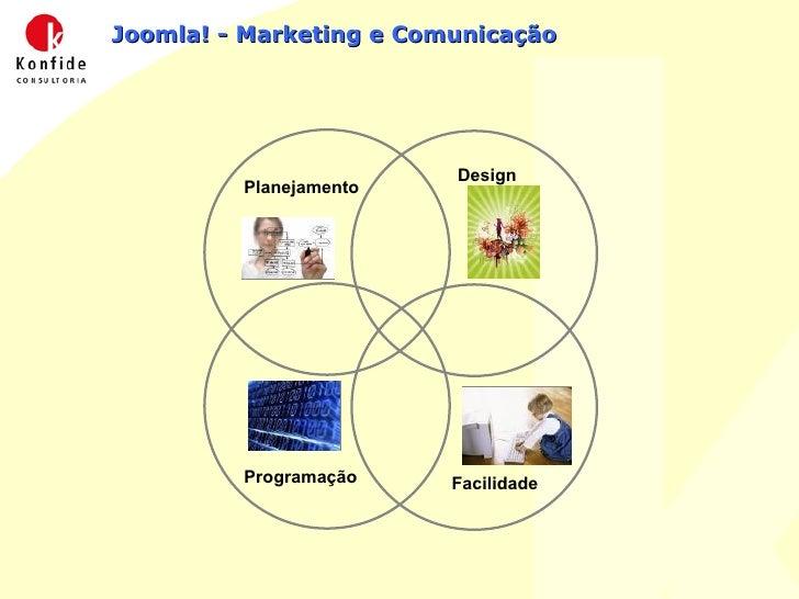 Joomla! - Marketing e Comunicação Design Planejamento Programação Facilidade