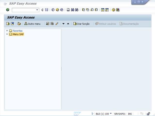 ABAP - Advanced Business Application Programming Criando o primeiro programa