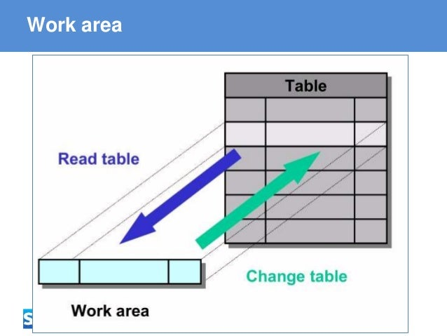 ABAP - Advanced Business Application Programming Work area