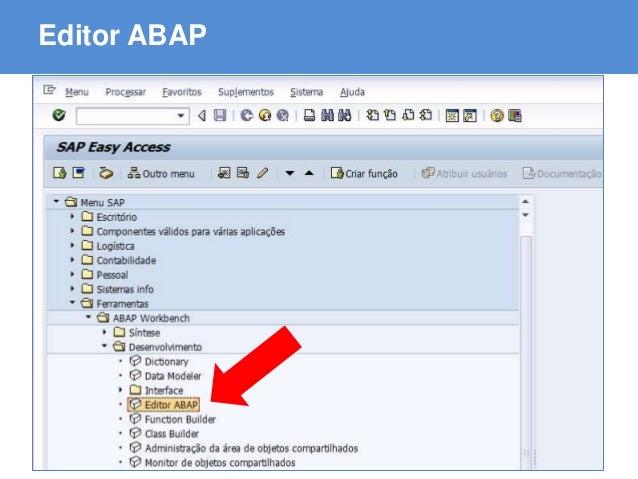 ABAP - Advanced Business Application Programming Editor ABAP