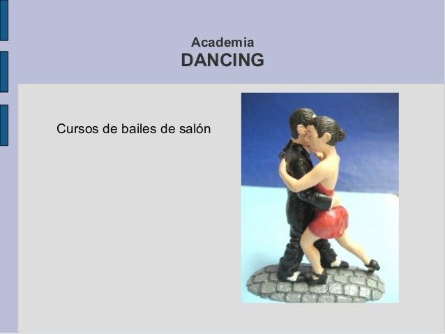 AcademiaDANCINGCursos de bailes de salón
