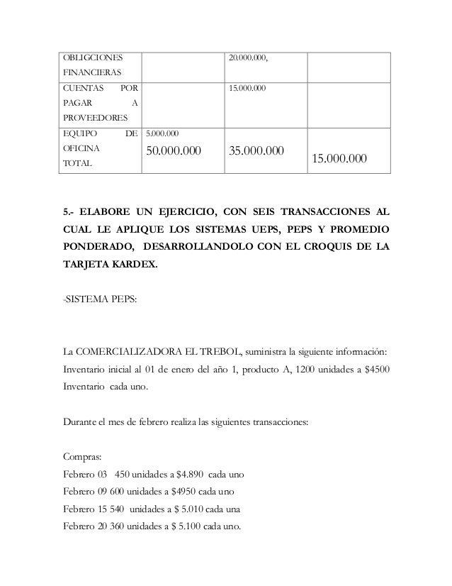 OBLIGCIONES                               20.000.000,FINANCIERASCUENTAS       POR                         15.000.000PAGAR ...