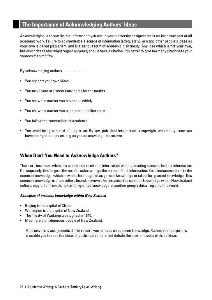 academic writing guide It is suitable for anyone writing essays, assignments or other pieces of   printable pdf short guide booklets from the academic skills centre.
