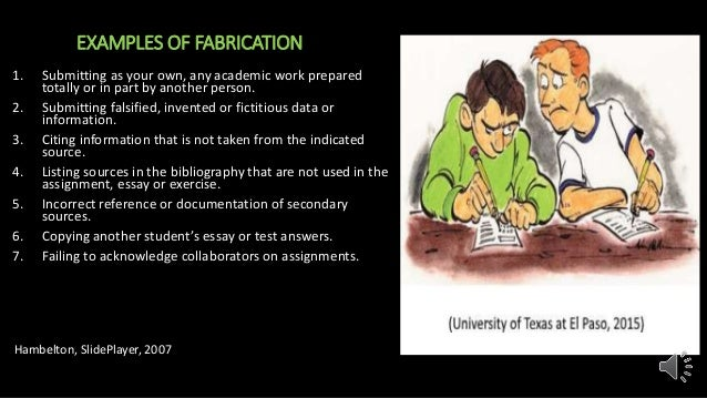 Academic dishonesty presentation