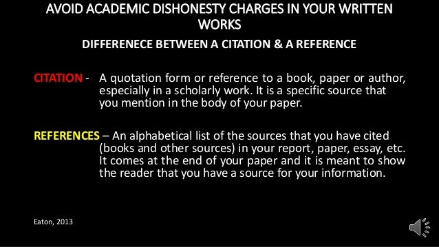 academic dishonesty presentation  8 avoid academic dishonesty