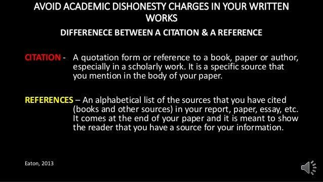 academic dishonesty presentation 8 avoid academic dishonesty