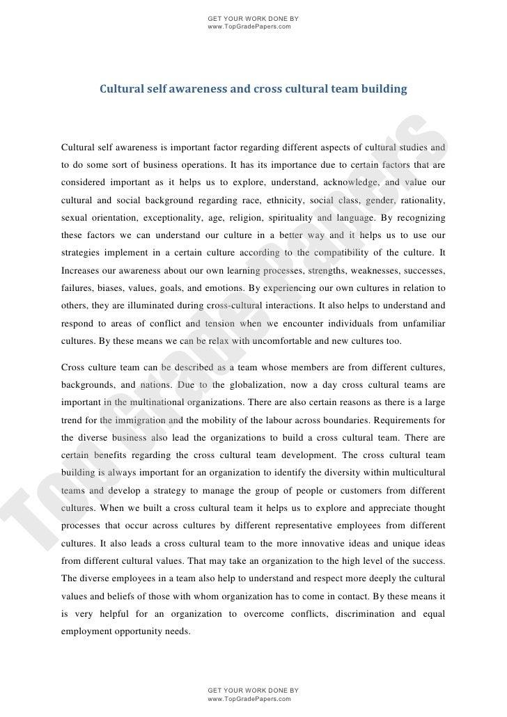 Self awareness essay