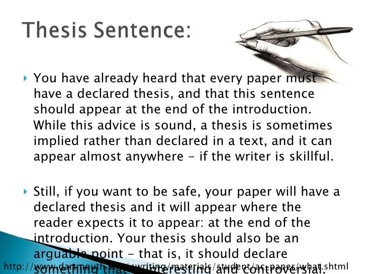 Structure of an academic essay