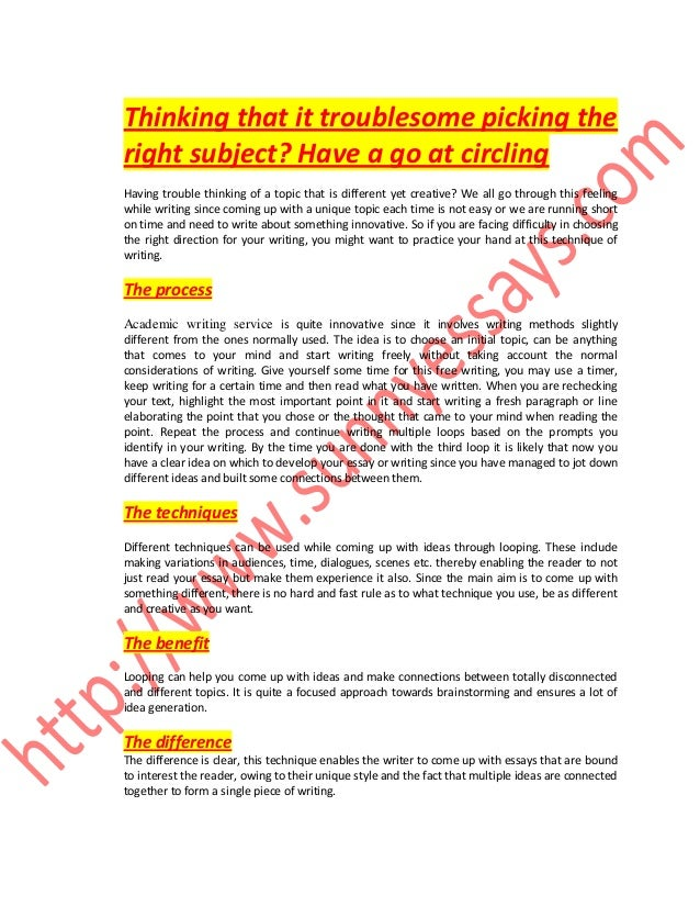 How to write a similarities and differences essay