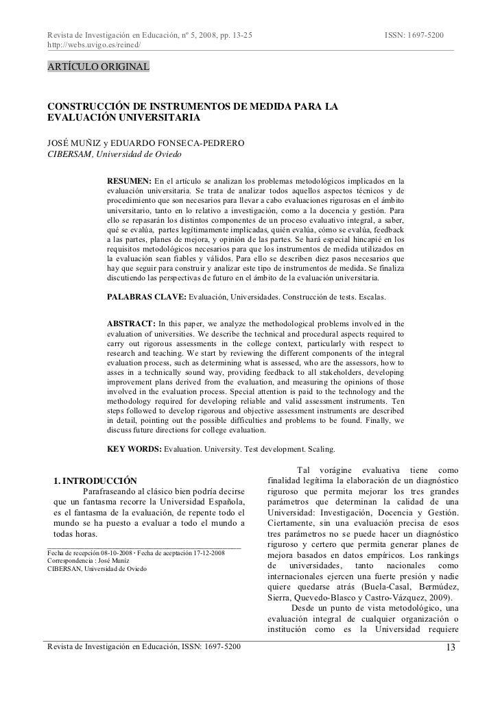 Revista de Investigación en Educación, nº 5, 2008, pp. 13-25                                           ISSN: 1697-5200http...