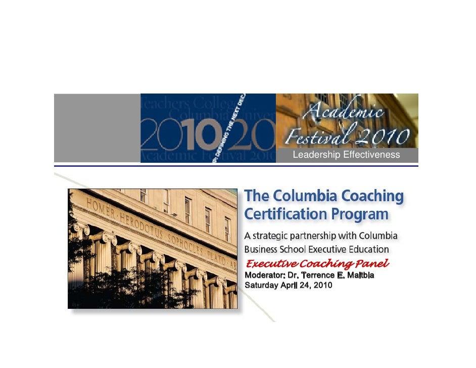 Academic Festival Executive Leadership Coaching Guest V1