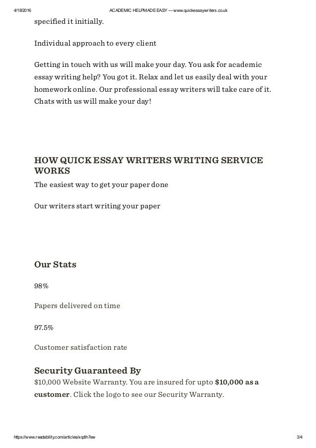 Professional essay help in uk