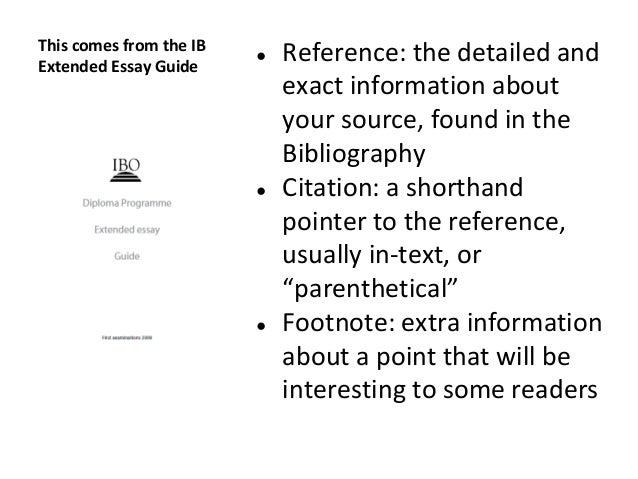 ib extended essay artificial intelligence Extended essay guide 1 choosing the right combination students are required to choose one subject from each of the six the extended essay and the ib learner profile.