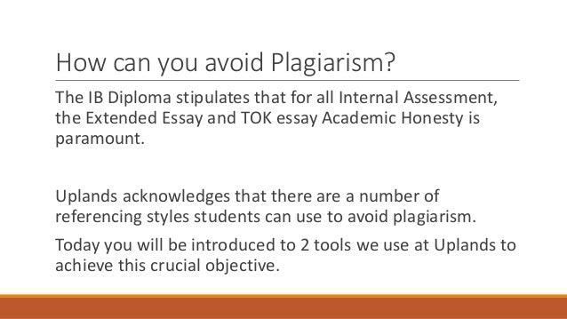 Academic honesty in the ib diploma