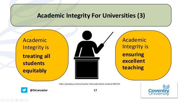 Academic integrity essay established standards