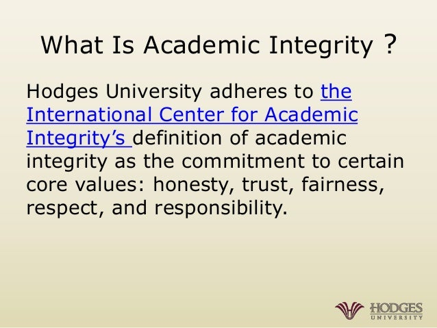academic integrity assignment Be committed to academic integrity—submit your own original work with proper citations for every assignment adhere to the academic integrity policy in all your coursework featured.