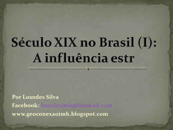 Por Lourdes SilvaFacebook: lourdesimh@hotmail.comwww.geoconexaoimh.blogspot.com