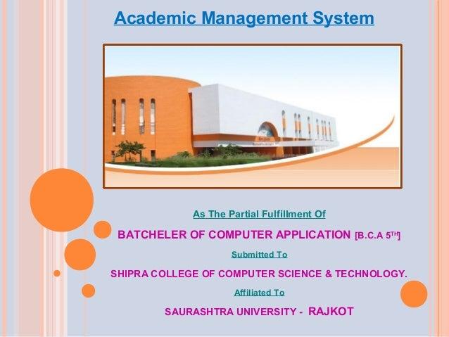 Academic management slideshare - 웹