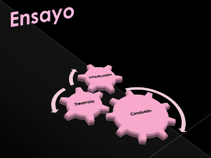 Ensayo<br />