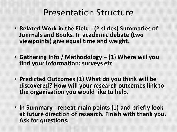research paper presentation ppt sample