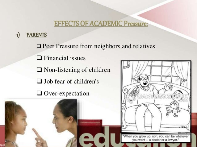 effects of peer pressure and broken families to the academic performance of a student Decline in performance, while those previously at the bottom improved slightly   social concerns or peer pressure1 are students willing to deviate from what they   though many studies have found peer effects in education,3 there are many.