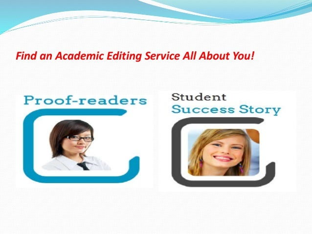 Academic Editing Services by Professional Editors