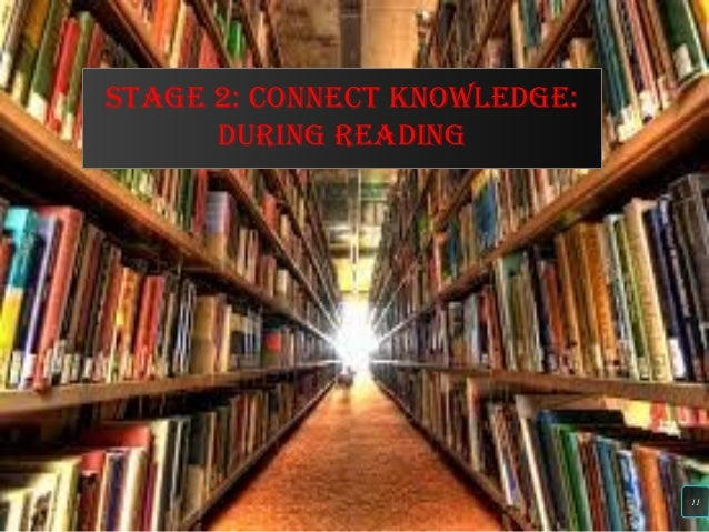 sTagE 2: CONNECT kNOwlEdgE: dURiNg REadiNg 11