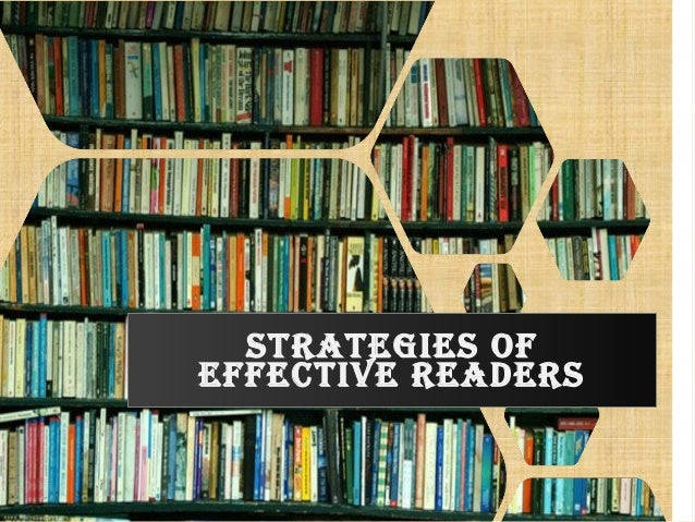 strategies oF eFFective readers