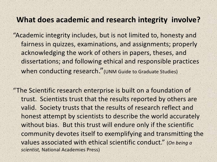 what does academic integrity mean to you essay Essay on honor by lauren bradshaw one must have patience and study to become a person of integrity and goodwill you can order a custom essay.