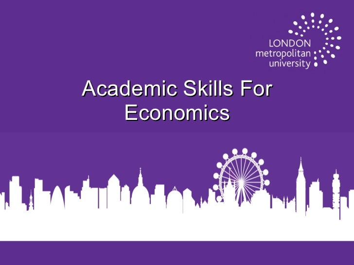 Academic Skills For Economics
