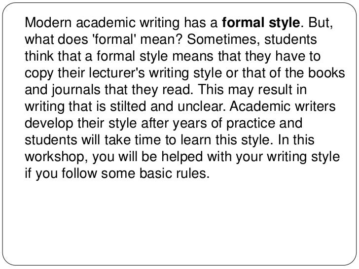 referee type academic writing
