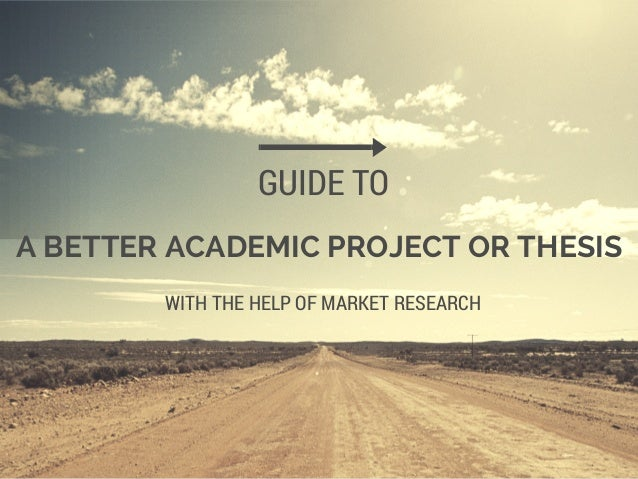 Academic project project help