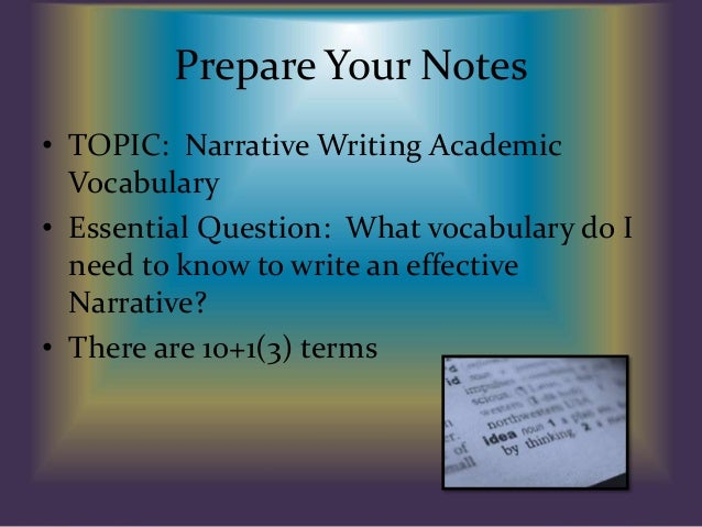 IELTS Writing vocabulary
