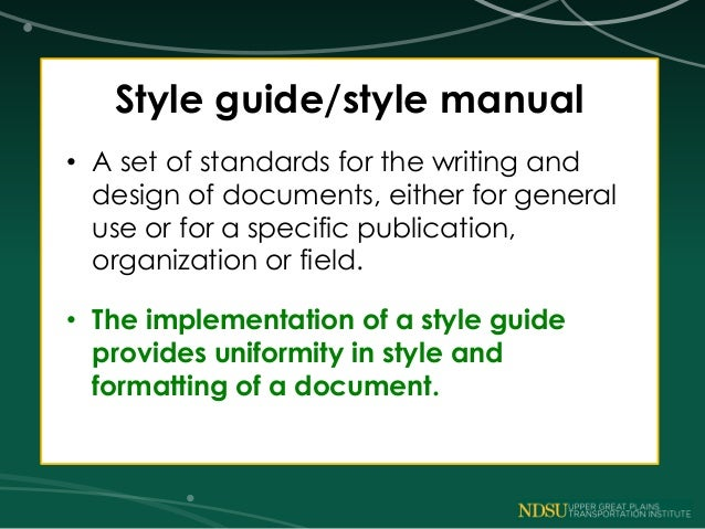 Academic writing help style guide