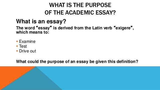 9 - Writing Essay Tips