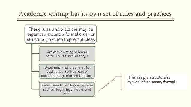 Types of Academic Texts