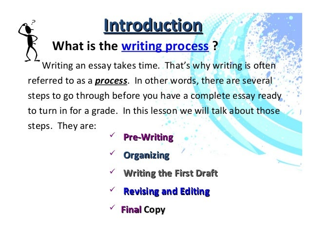 Academic writing help processes