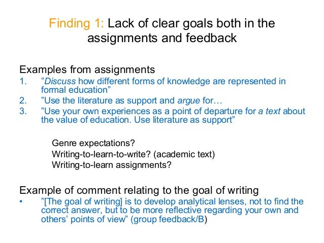 academic writing and feedback by olga dysthe