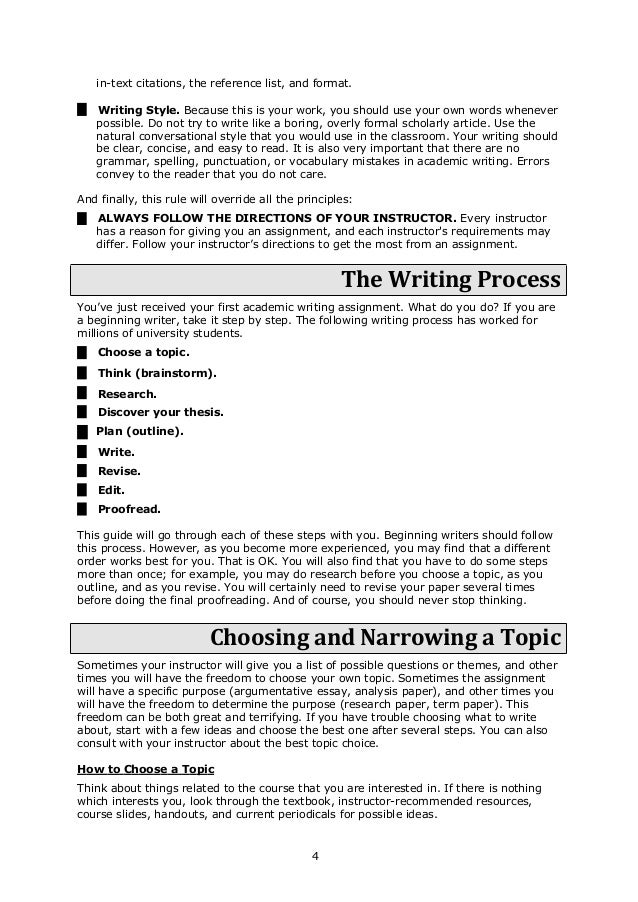 Insiders guide to academic writing