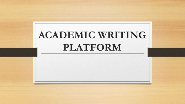 Academic writing support