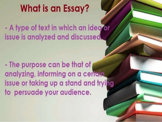 powerpoint on writing an essay