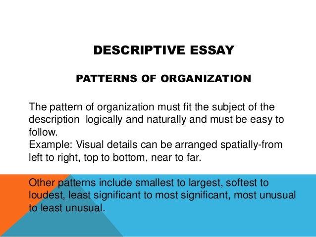 Descriptive essay hospital