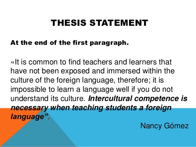 in academic writing it is not always necessary to have a thesis statement A solid thesis statement will always be the heart of your  you'll want to follow these tips for developing a good thesis statement:  what is academic writing.